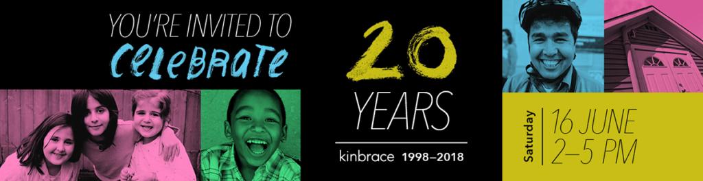 Celebrate 20 Years of Kinbrace