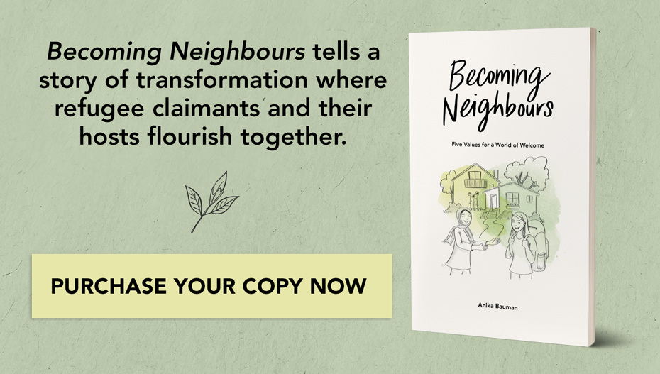 Promo for Becoming Neighbours book
